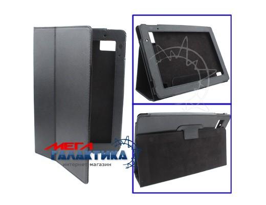 Acer Iconia Tab A500 Чехол, подставка, фактурн. кожа,,черн. Фото товара №1