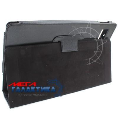 Acer Iconia Tab A500 Чехол, подставка, фактурн. кожа,,черн. Фото товара №2