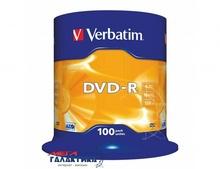 Диск DVD-R Verbatim  4.7GB 16x AZO Extra Protection 43549