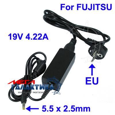 Блок питания Для ноутбука Megag   80W 19V 4.22A 5.5x2.5mm Fujitsu  Black A1600 / A1640 / A1645 / A1645G / A1650 / A1650G / A1667 / A1667G / A1840 / A2200+ / A6600 / A6660 / A7600 / A7620 / A7640 / A7645 / A8600 / A8620 / A8625 Фото товара №2