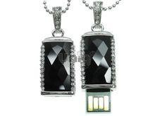 Флешка Uniq USB 2.0 КАМЕНЬ УДАЧИ Серебро / Черный 4GB (04C14035U2)