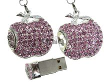 Флешка Uniq USB 2.0 Apple Jewel Pink 4GB (04C14100U2)