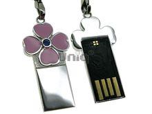 Флешка Uniq USB 2.0 SLIM КЛЕВЕР Розовый 4GB (04C14155U2)