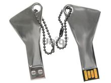 Флешка Uniq USB 2.0 КЛЮЧ Металл [металл] 4GB (04C14164U2)
