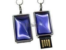 Флешка Uniq USB 2.0 СТИЛЬ 3D фиолетовая, пластик Водонепрониц. 4GB (04C14236U2)