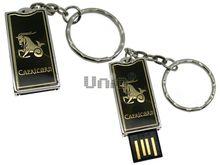 Флешка Uniq USB 2.0 ZODIAK STARLIGHT Козерог черное золото (Capricorn) 4GB (04C14283U2)