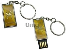 Флешка Uniq USB 2.0 ZODIAK STARLIGHT Рак золото (Cancer) 4GB (04C14285U2)