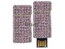 Флешка Uniq USB 2.0 СВИТОК КОРОЛЕВСКИЙ инкруст. розовый Водонепр. 4GB (04C14327U2)