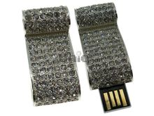 Флешка Uniq USB 2.0 СВИТОК КОРОЛЕВСКИЙ инкруст. серебро Водонепр. 4GB (04C14329U2)