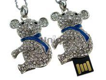 Флешка Uniq USB 2.0 АНИМАЛ Коала в Голубом Шарфе Серебро 4GB (04C14504U2)
