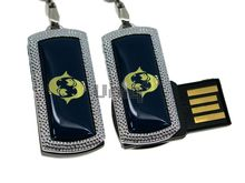Флешка Uniq USB 2.0 ZODIAK MINI Рыбы синий (Pisces) 4GB (04C14514U2)