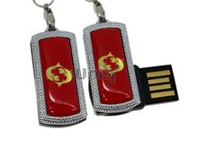 Флешка Uniq USB 2.0 ZODIAK MINI Рыбы красный (Pisces) 4GB (04C14516U2)