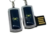 Флешка Uniq USB 2.0 ZODIAK MINI Рак синий (Cancer) 4GB (04C14522U2)