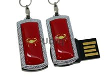 Флешка Uniq USB 2.0 ZODIAK MINI Рак красный (Cancer) 4GB (04C14523U2)