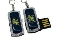 Флешка Uniq USB 2.0 ZODIAK MINI Лев синий (Leo) 4GB (04C14525U2)