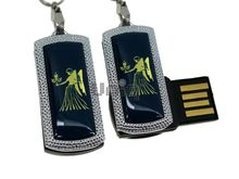 Флешка Uniq USB 2.0 ZODIAK MINI Дева синий (Virgo) 4GB (04C14533U2)
