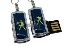 Флешка Uniq USB 2.0 ZODIAK MINI Весы синий (Libra)  4GB (04C14534U2)