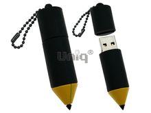 Флешка Uniq USB 2.0 КАРАНДАШ черный 4GB (04C14557U2)
