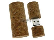 Флешка Uniq USB 2.0 НАТУР ДЕРЕВО Пробка Винная 4GB (04C14564U2)