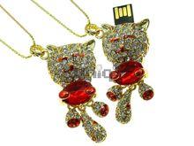 Флешка Uniq USB 2.0 ТИГРЕНОК рубин золото 36гр. 4GB (04C14640U2)