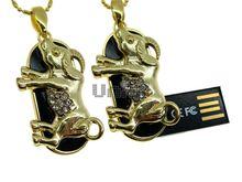 Флешка Uniq USB 2.0 ZODIAK МЕЧТА Телец черный / золото (Taurus) 4GB (04C14751U2)