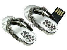 Флешка Uniq USB 2.0 ВЬЕТНАМКИ Маленькие Серебро 4GB (04C14757U2)
