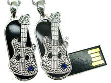 Флешка Uniq USB 2.0 МЕЧТА Гитариста серебро / синий 4GB (04C14785U2)