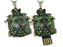 Флешка Uniq USB 2.0 ЖУК Beatle Green 4GB (04C14832U2)