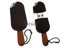 Флешка Uniq USB 2.0 ЭСКИМО шоколадное 4GB (04C14856U2)