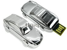 Флешка Uniq USB 2.0 АВТОМАШИНКА Porsche хром [металл] 4GB (04C14863U2)