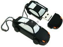 Флешка Uniq USB 2.0 AUTO Автомобиль черный Резина 4GB (04C14912U2)