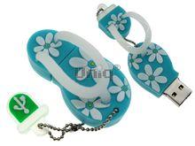 Флешка Uniq USB 2.0 ВЬЕТНАМКИ Гавайские голубые 4GB (04C14954U2)