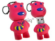 Флешка Uniq USB 2.0 DOG Snoopy малинв 4GB (04C14983U2)