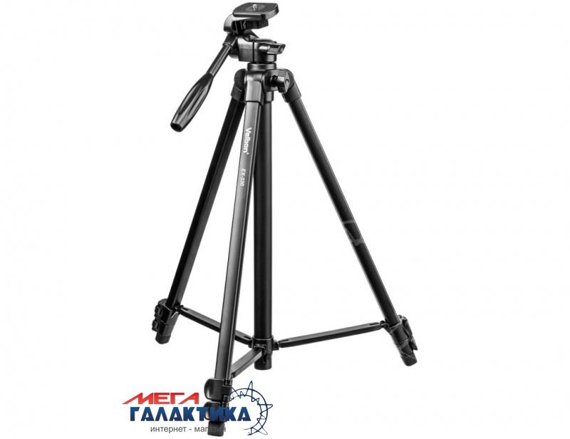 Штатив для фото-/видеокамер Velbon® EX-330, max 145.5cm min 114.5cm., 2kg, Фото товара №1