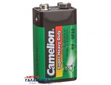 Батарейка Camelion Krona 6LF22 Super Heavy Duty  9V Carbon-Zinc (Солевая) (10873999005564)