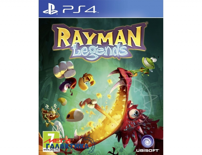 Игра Rayman Legends  (PS4, русская документация) Фото товара №1