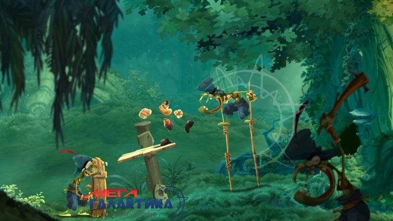 Игра Rayman Legends  (PS4, русская документация) Фото товара №2