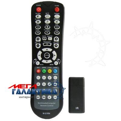 Пульт универсальный для ПК Megag S-PRC-0115 USB (IR)  Black Фото товара №2