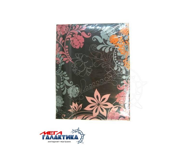 Альбом 13х18 40шт Walther FA-221-P,самоклеющиеся листы,шоколадный с цветами Фото товара №1