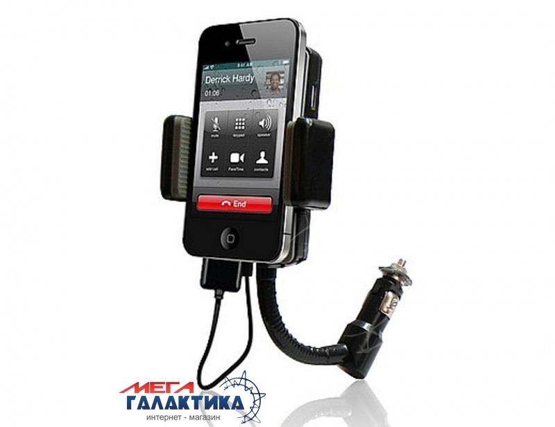 ALLKIT II FM Transmitter-подст, Hands-free, поворот 180` вых. USB,  для айПод/для айФон/Mp3* Фото товара №1