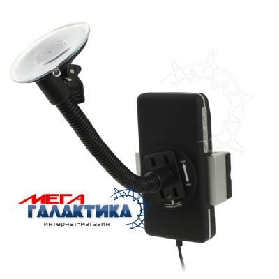 OKIT CAR+Bluetooth FM Transmitter+з/у USB,  iPod/iPhone/MP3/телеф/CD,пульт, прикуриват.+стекло,черн* Фото товара №2