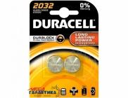 Батарейка Duracell DL2032  (2 в 1) 225 mAh 3V Lit...