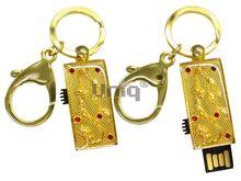 Флешка Uniq USB 2.0 ШАМАХАНСКАЯ ЦАРИЦА Дракон большой золото [металл, эмаль] 4GB (04C17059U2)