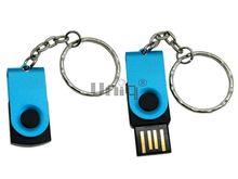 Флешка Uniq USB 2.0 ОФИС микро,  бирюзовый 4GB (04C17063U2)