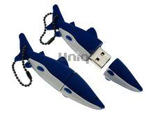 Флешка Uniq USB 2.0 АКУЛА синий 4GB (04C17069U2)