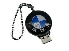 Флешка Uniq USB 2.0 АВТОБРЕЛОК BMW черный [пластик] 4GB (04C17083U2)
