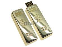 Флешка Uniq USB 2.0 БАНКОВСКИЙ СЛИТОК Bank of Memory золото (металл) 4GB (04C17130U2)