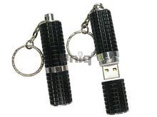 Флешка Uniq USB 2.0 ПОМАДА Рельефная черный [металл] 4GB (04C17241U2)