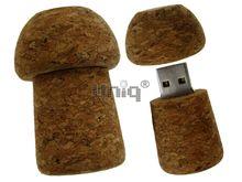 Флешка Uniq USB 2.0 НАТУР ДЕРЕВО Пробка Шампанское 4GB (04C17258U2)