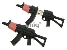 Флешка Uniq USB 2.0 ОРУЖИЕ Автомат Калашникова АК-74 4GB (04C17280U2)